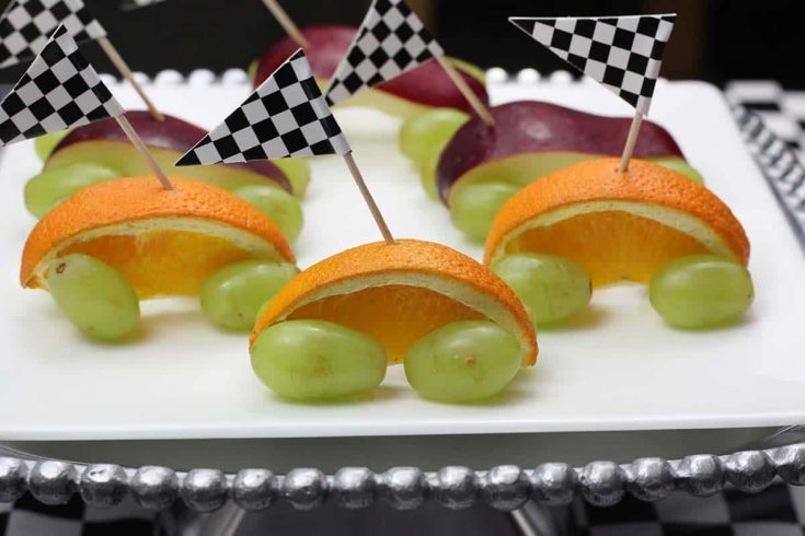 4 Healthy and Simple Pinewood Derby Snacks