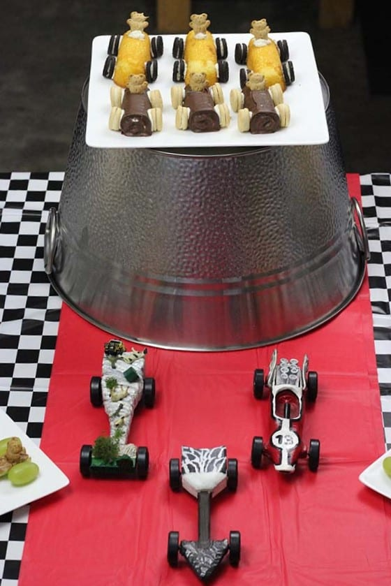 Pinewood Derby snacks