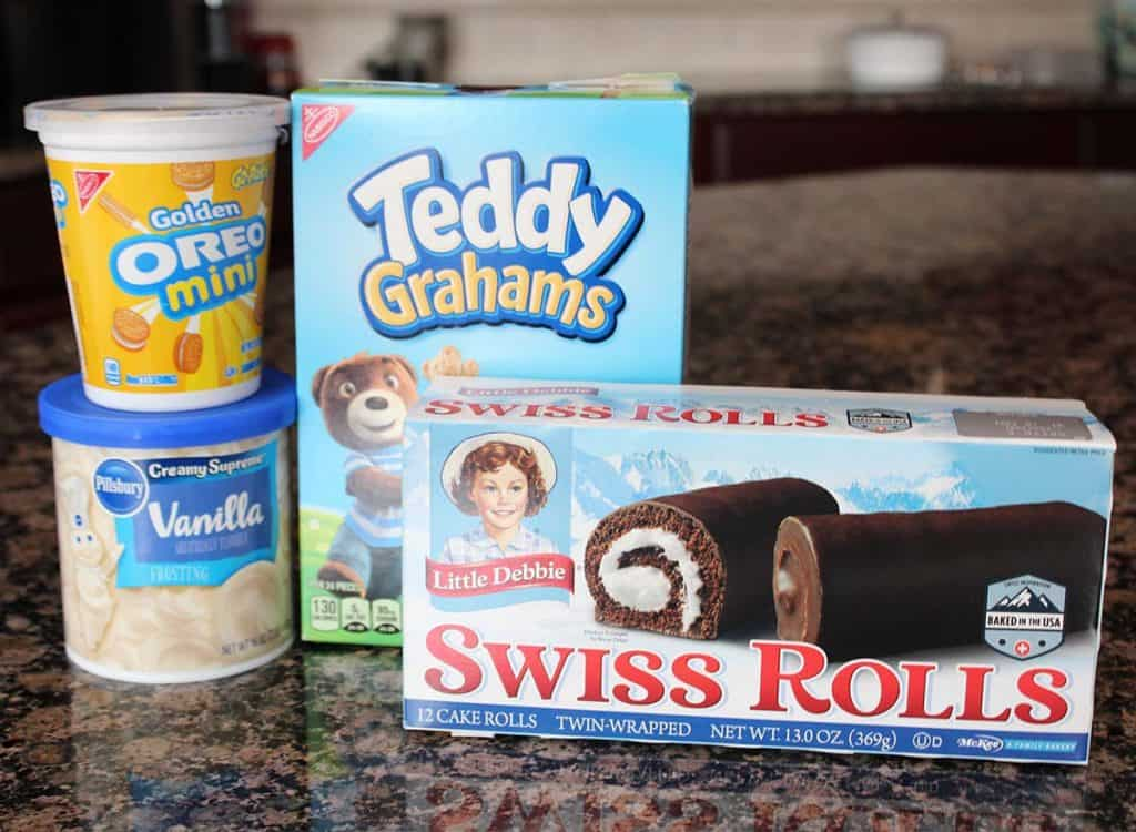 pinewood derby treats swiss cake roll ingredients