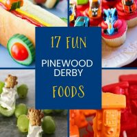 17 Pinewood Derby Food Ideas Your Cub Scouts Will Love