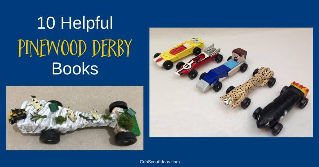pinewood derby books