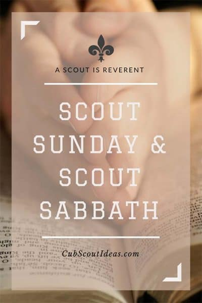 Scout Sunday and Scout Sabbath