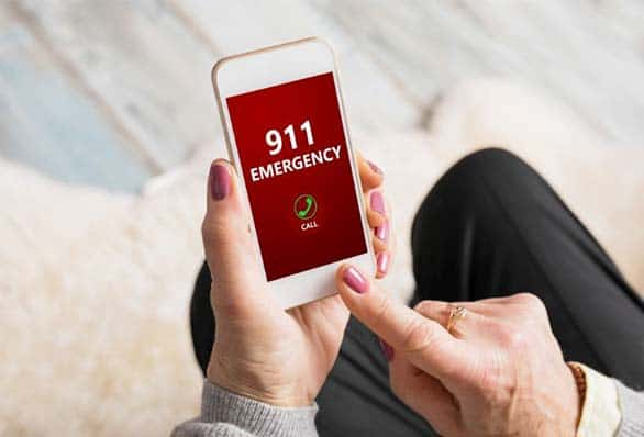 911 emergency call iphone