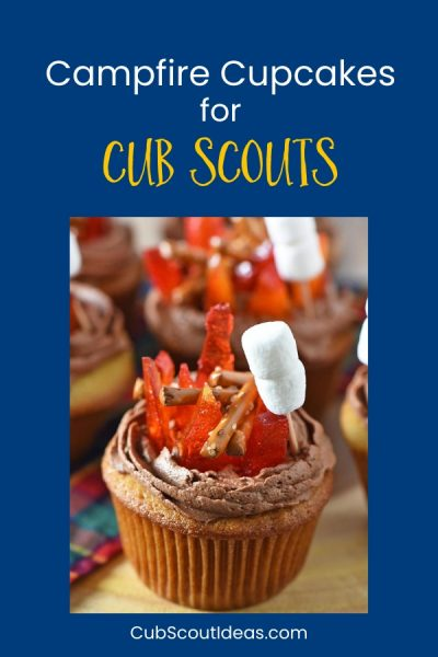 easy campfire cupcakes