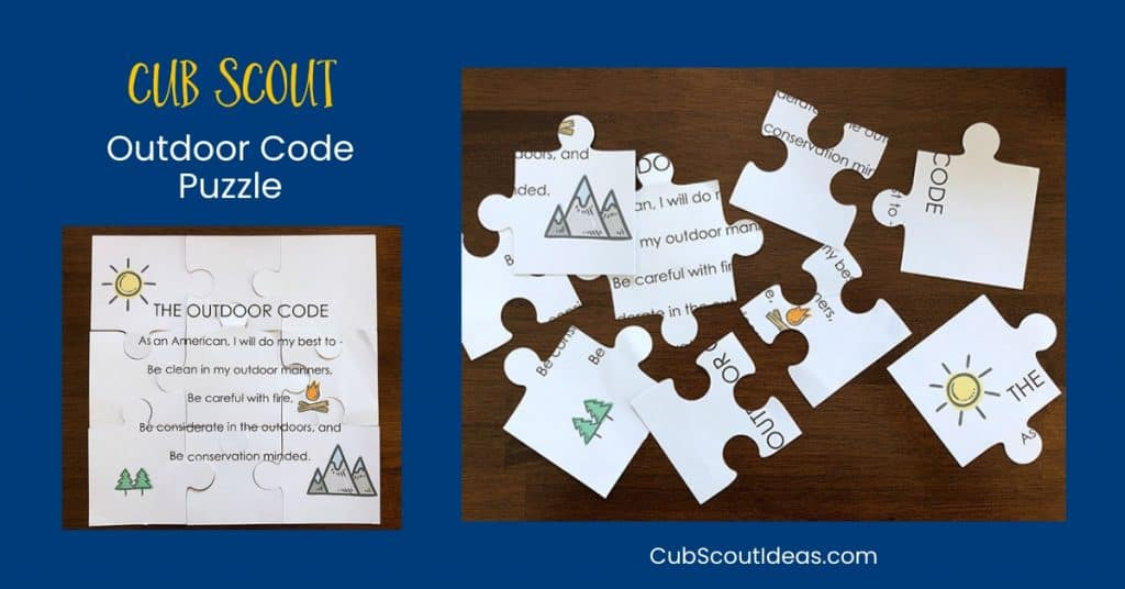 picture regarding Cub Scout Printable identified as How toward Deliver a Cub Scout Outside Code Puzzle Cub Scout Plans