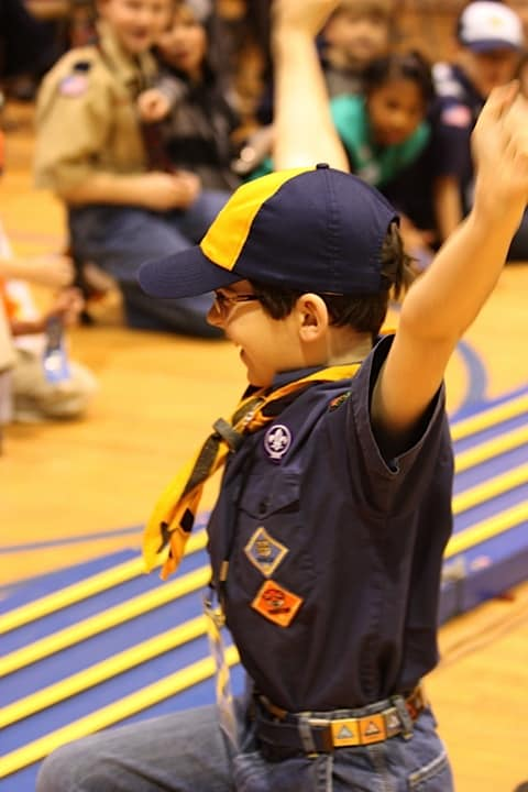 Cub Scout Winning Pinewood Derby