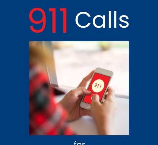cub scout practice 911 calls