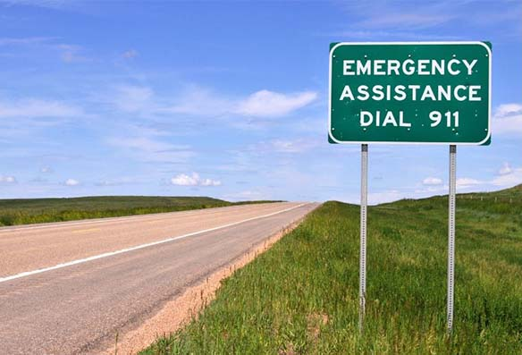 tanda bantuan darurat