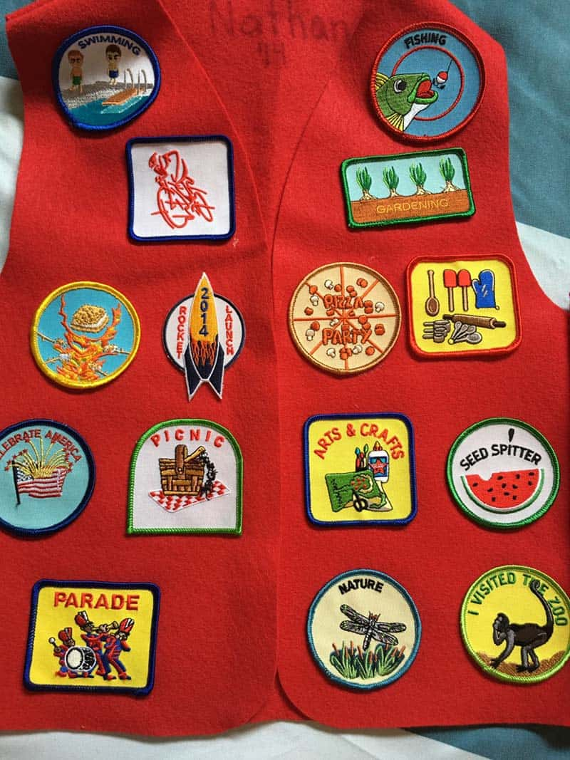 Geocaching fun blanket badge patch Scouts Guides