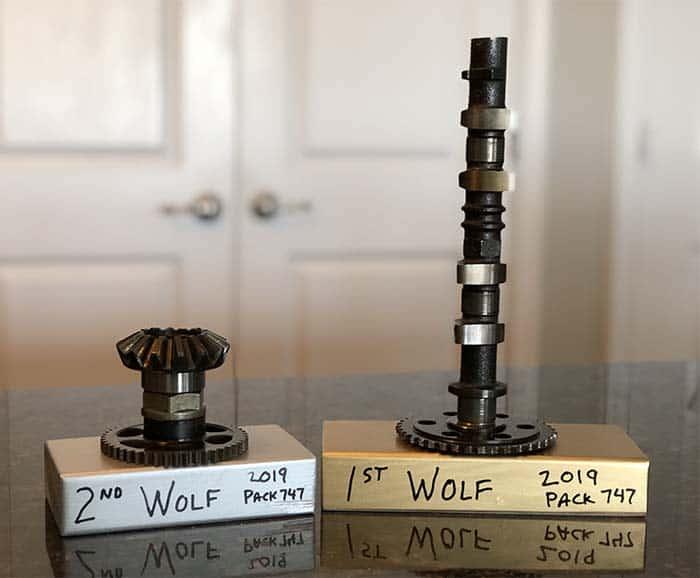wolf pinewood derby awards