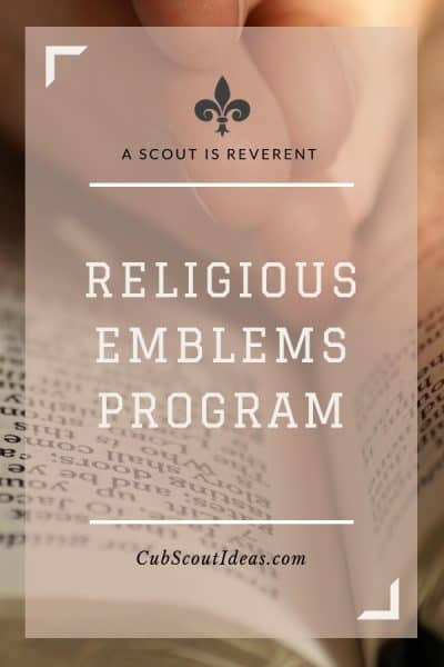 Scout religious emblems program