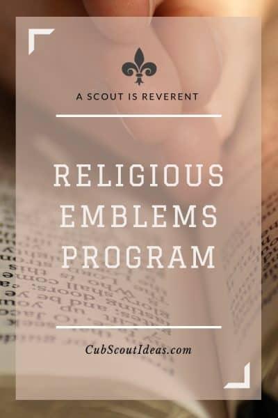Scout religious emblems program