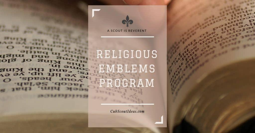 scout religious emblems