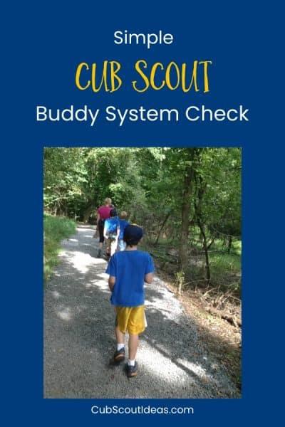 cub scout buddy system