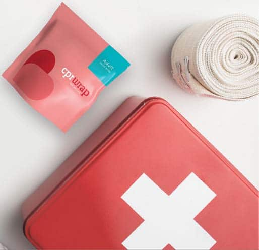 cpr wrap first aid kit