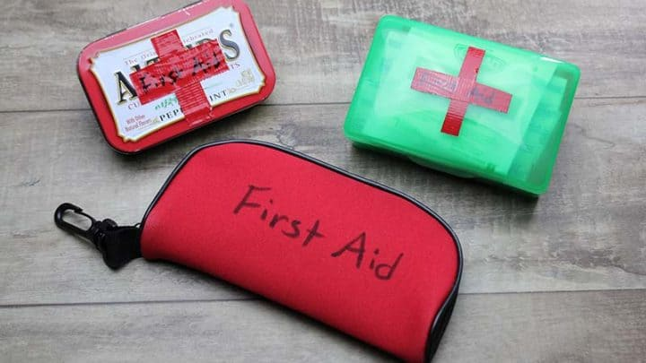 Cub Scout Mini First Aid Kits