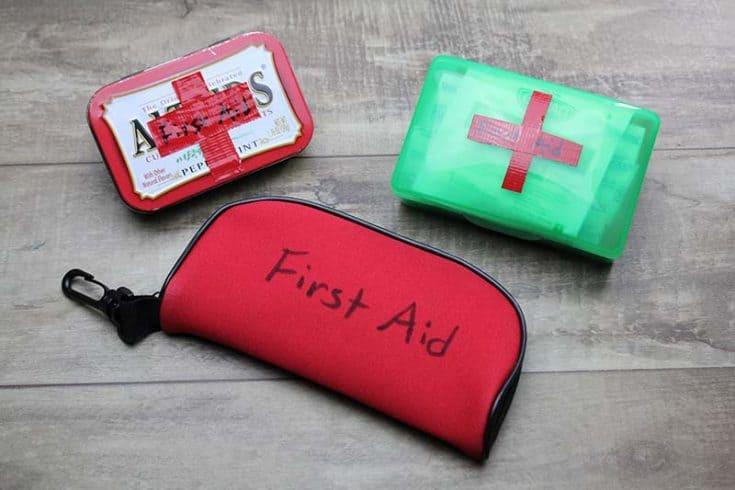 Cub Scout Mini First Aid Kits