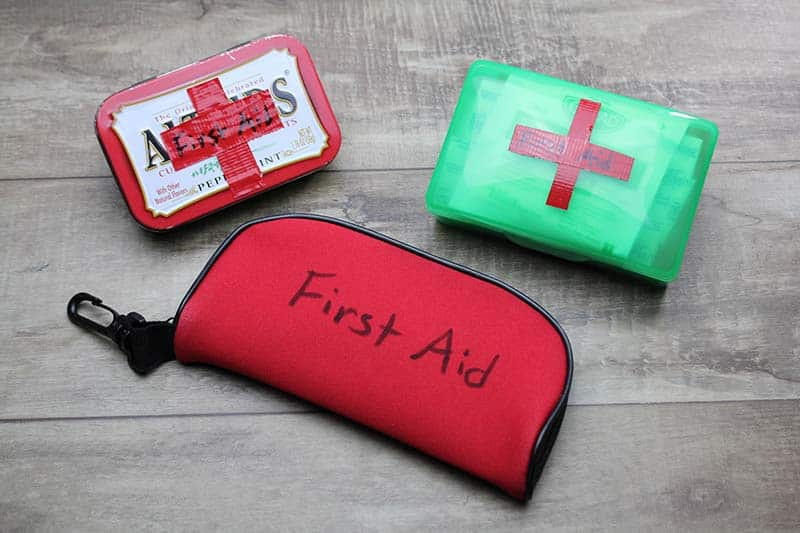 How to Make Easy Cub Scout First Aid Kits | Cub Scout Ideas