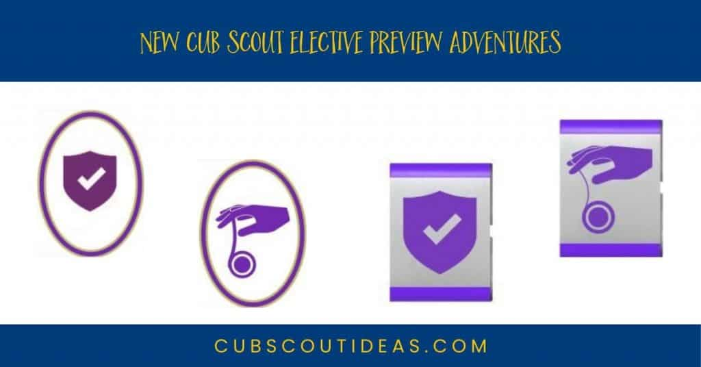 New Cub Scout Elective Preview Adventures