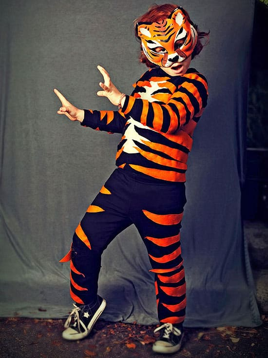 tiger diy costume