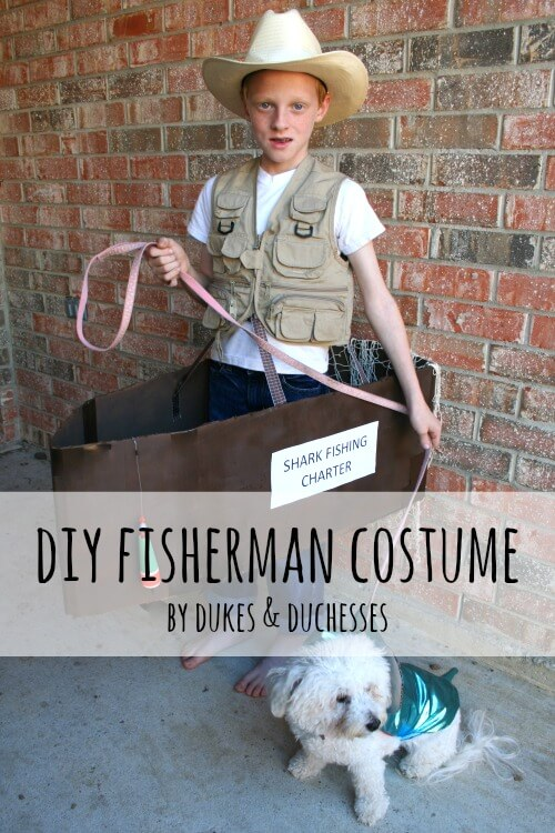 fisherman diy costume