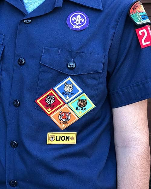 Cub Scout Rank Patches