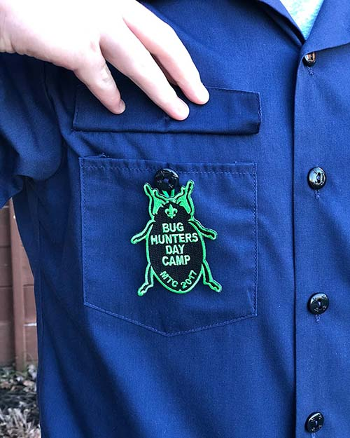 Cub Scout day camp temporary patch