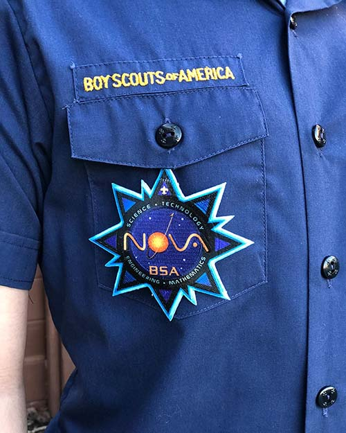 cub scout nova temporary patch