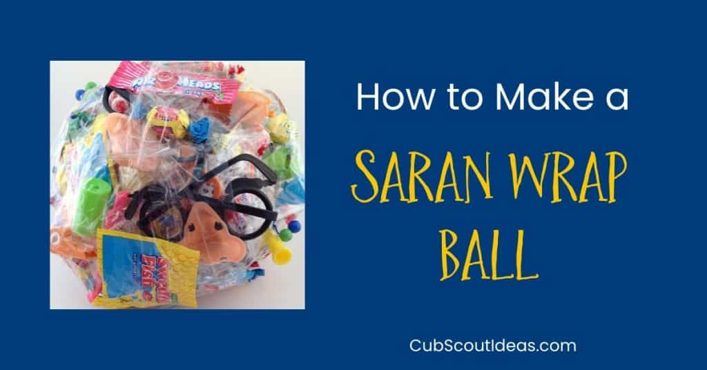 saran wrap ball game
