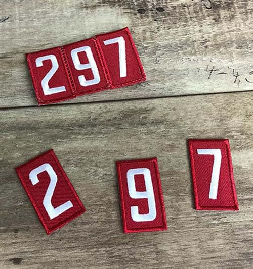 sew pack numbers together