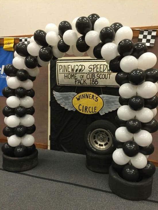 pinewood derby photo booth
