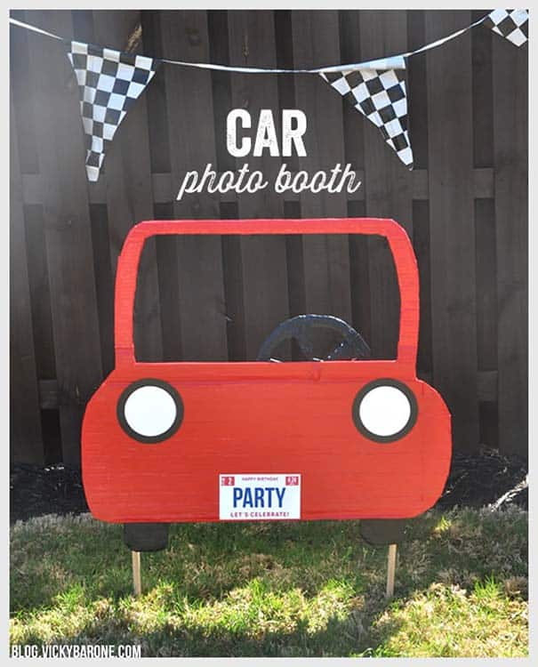 Car photo booth