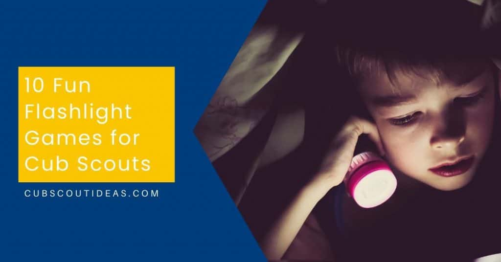 flashlight games for cub scouts
