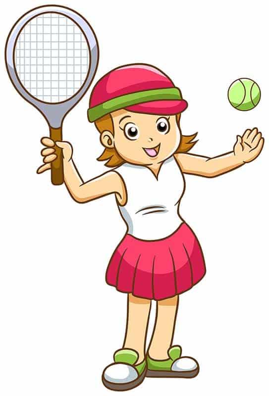 tennis lever