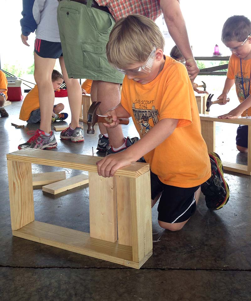 cub scout woodworking project tray