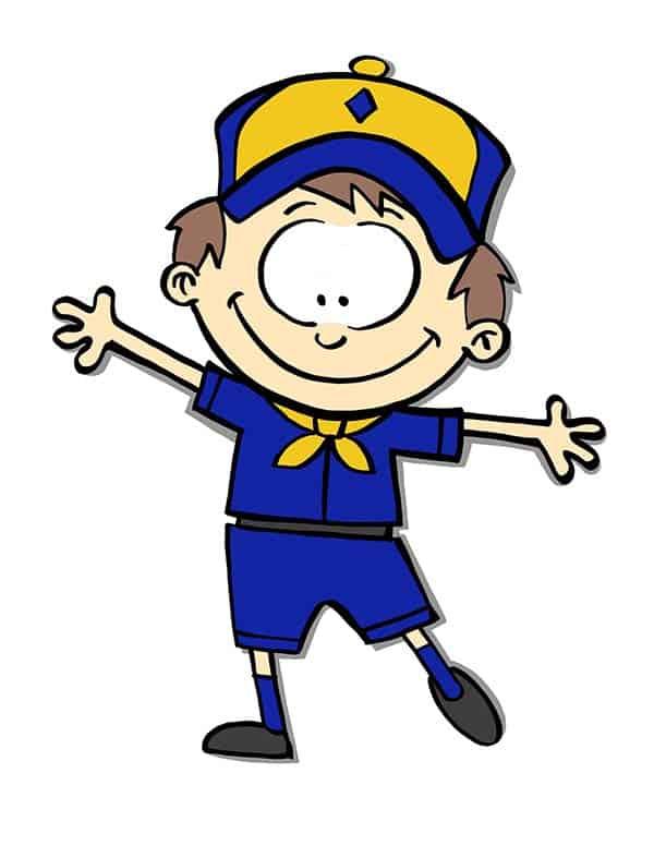 Flat Cubbie Cub Scout