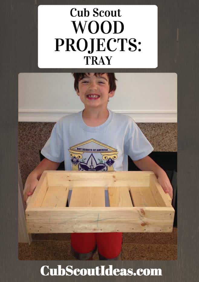 wooden tray project