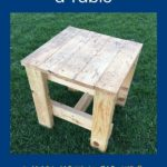 woodworking for kids how to build a table