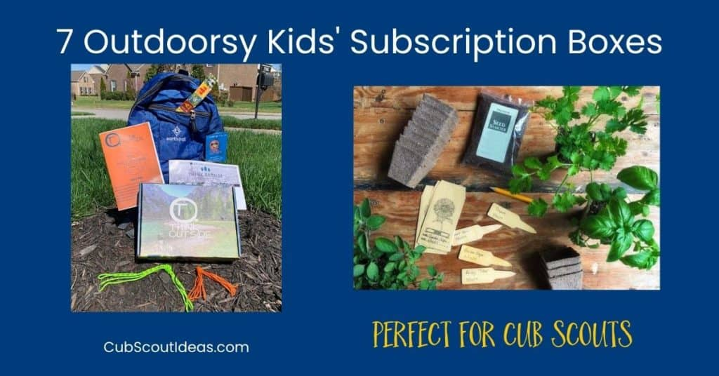 Outdoorsy Kids Subscription Boxes f