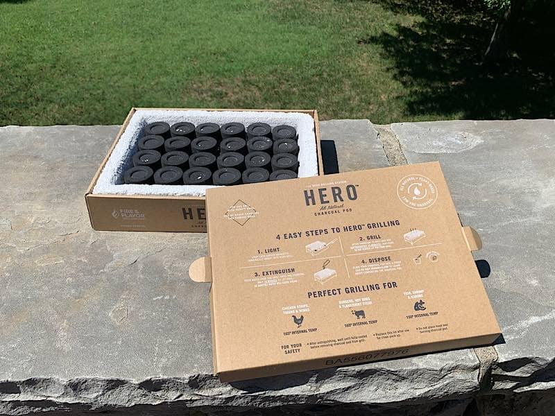 charcoal pod for hero grill