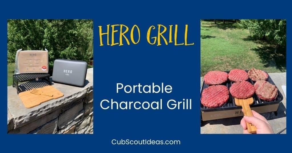 hero portable grill