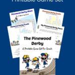 Aktivitas Pinewood Derby yang Dapat Dicetak