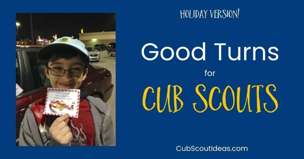 good turns for cub scouts