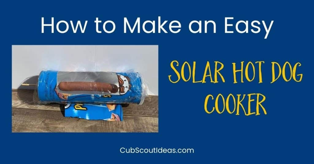 how to make a solar hot dog cooker
