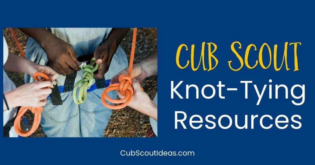 cub scout knots