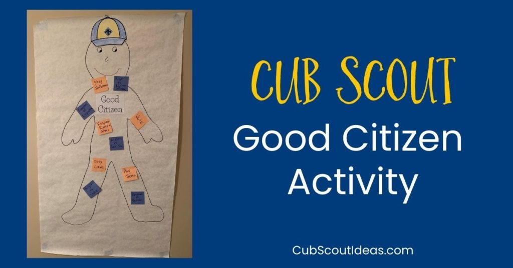 Cub Scout Good Citizen Activity