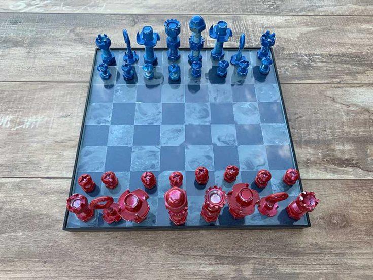 diy chess set