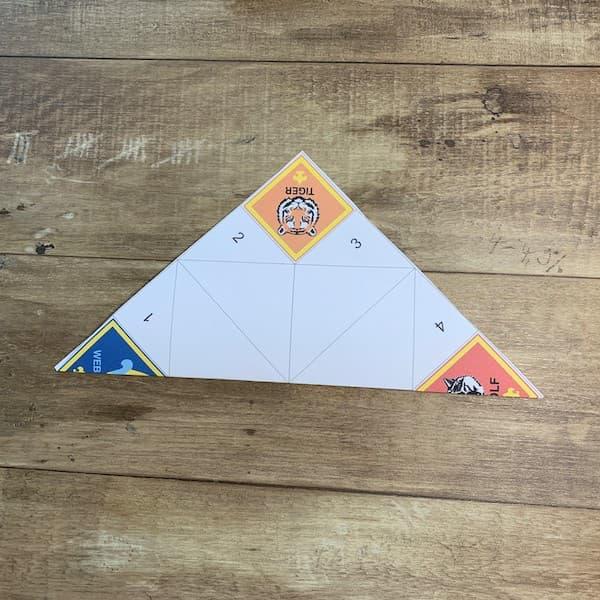 fortune teller step 3