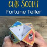 how to make a cub scout fortune teller