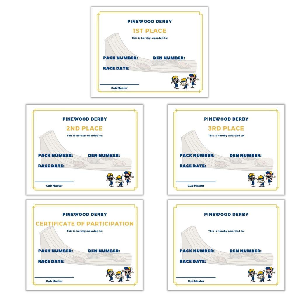 certificates design 3
